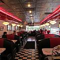 Inside The Diner by Randall Weidner