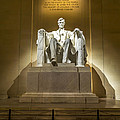 Inside The Lincoln Memorial by David Morefield