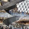 Inside The Louvre Museum In Paris by Marianna Mills