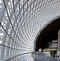 Inside The National Grand Theatre - Beijing China by Brendan Reals