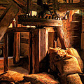 Inside The Old Mill by Michael Pickett