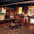 Inside Tibetan House by Jeelan Clark