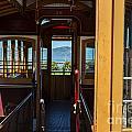 Inside Trolley 28 by Iris Richardson