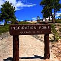 Inspiration Point by Dan Sproul