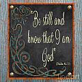 Inspirational Chalkboard-b2 by Jean Plout