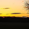 Inspirational Sunset  by Ann Murphy