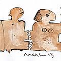 Instar No.1  by Mark M  Mellon