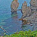 Interesting Rock Shapes In Trinity Bay Near Skerwink Trail-nl by Ruth Hager