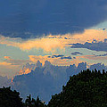 Interesting Sky by Mariarosa Rockefeller