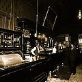 Interior Cabinet Saloon 68 W. Congress Tucson Arizona  C.1910-2011 by David Lee Guss