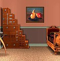 Interior Design Idea - Two Pears by Anastasiya Malakhova