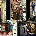 Interior Hatches Collage Russian Submarine by Thomas Woolworth