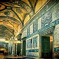 Interior Narthex by Joan Carroll