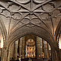 Interior Of Jeronimos Monastery Church In Lisbon by Artur Bogacki