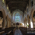 Interior Of St Mary's Church In Rye by Louise Heusinkveld
