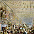 Interior Of The Great Exhibition Of All by Edmund Walker