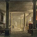Interior Of The Law School, Cambridge by Frederick Mackenzie