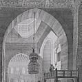 Interior Of The Mosque Of Kaid-bey by Pascal Xavier Coste