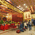 Interior Of Thien Hau Temple A Taoist Temple In Chinatown Of Los Angeles by Jamie Pham
