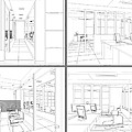 Interior Office Rooms by Nenad Cerovic