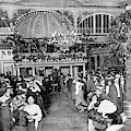 Interior View Of The Moulin De  La by Mary Evans Picture Library