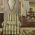 Interior With Chair by Jolante Hesse
