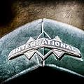 International Grille Emblem -0741ac by Jill Reger
