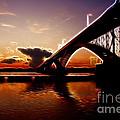 International Peace Bridge by Darleen Stry