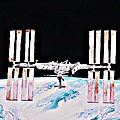 International Space Station 2011 by Ken Higgins