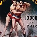 International Wrestling Championship by Pal Jean de Paleologue