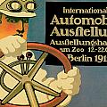 Internationale Automobile Ausftellung by Vintage Automobile Ads and Posters