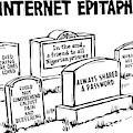 Internet Epitaphs Digibuy by Drew Dernavich