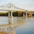 Interstate Bridge In Winona by Susie Loechler