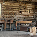 Interior Of Historic Pioneer Cabin by Juli Scalzi