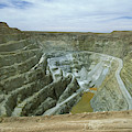 Inti Raymi Gold Mine Quarry In Oruro by Anders Ryman