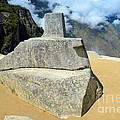 Inti Watana Stone Calendar At Machu Picchu by Catherine Sherman