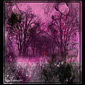 Into A Dark Pink Forest by Ericamaxine Price