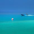 Into The Blue. Maldives by Jenny Rainbow