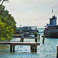 Intracoastal Ship by Alice Gipson