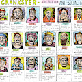 Introducing Crankster - The Site For Anti-social by Roz Chast