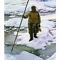 Inuit Seal Hunter Barrow Alaska July 1969 by California Views Archives Mr Pat Hathaway Archives