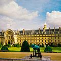 Invalides Paris France by Bobby Uzdavines