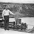 Inventor Of First Snowmobile by Underwood Archives