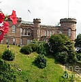 Inverness Castle On The Hill by Joan-Violet Stretch
