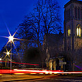 Inverness Cathedral At Night by Joe Macrae