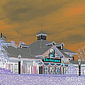 Invert Of The Apple Barn's Christmas Shop In Pigeon Forge Tennessee by Marian Bell
