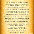 Invictus - Tribute To Nelson Mandela by Ginny Gaura
