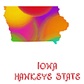 Iowa State Map Collection 2 by Andee Design