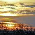 Iowa Sunrise Panorama by Bonfire Photography