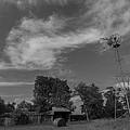 Iowa Windmill by Jake Thompson